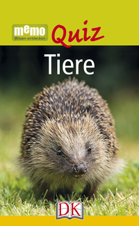 Coverbild memo Quiz. Tiere, 9783831031979