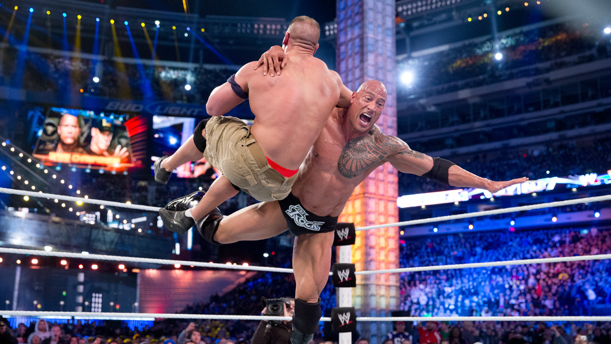 The Rock beim Smackdown