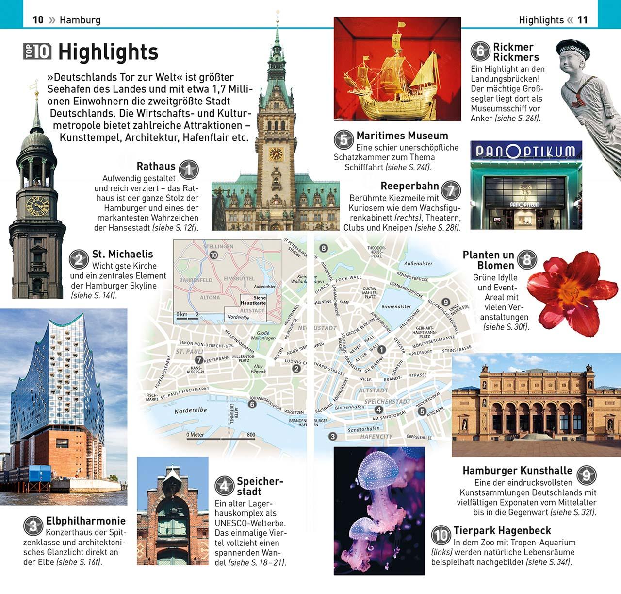 Top 10 Reiseführer Hamburg | DK Verlag