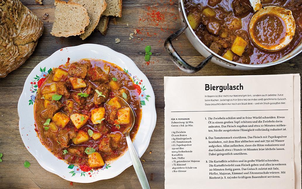 Bayerische Sommerküche : Biergartenkochbuch dk verlag