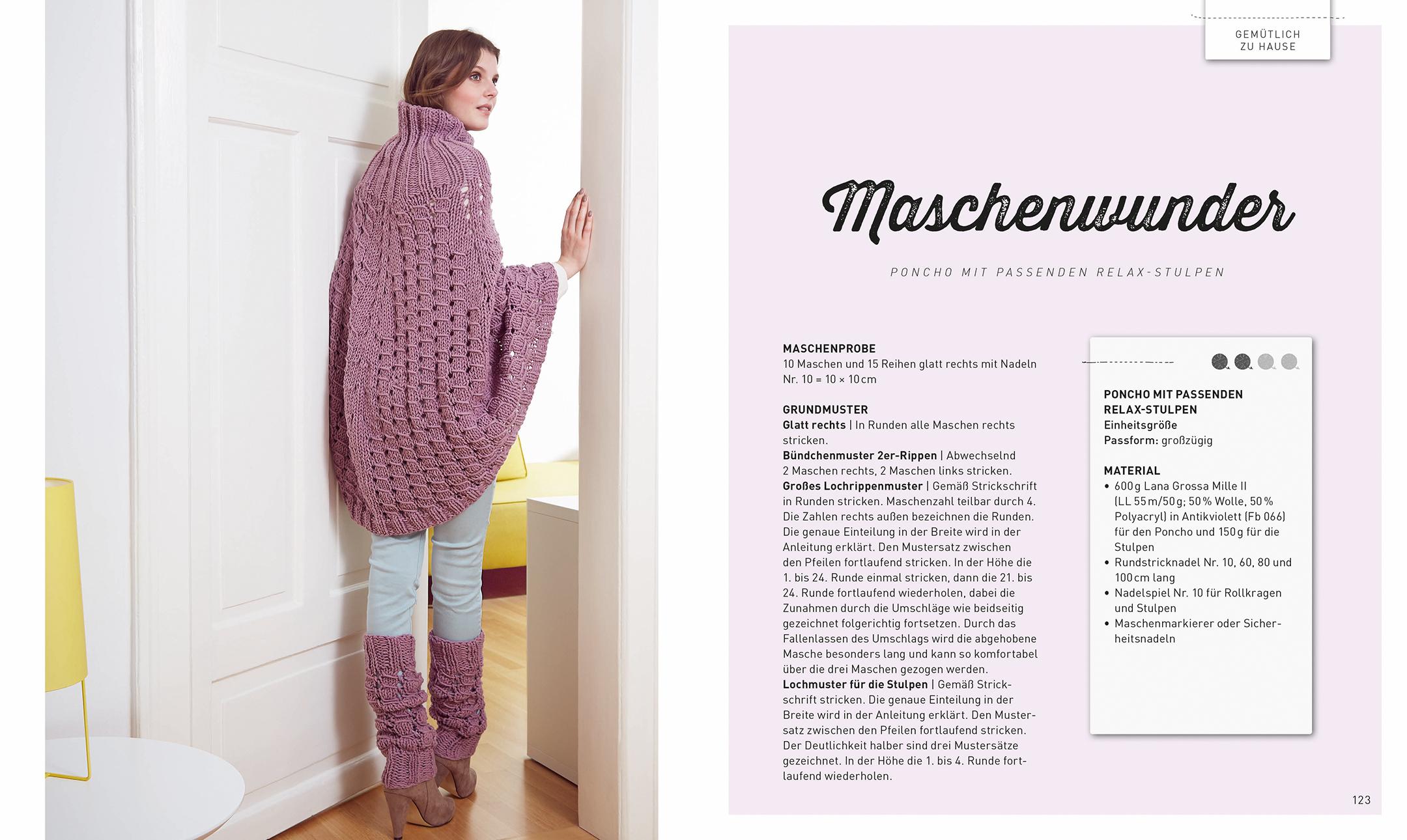 Pullover Und Jacken In Großen Maschen Dk Verlag