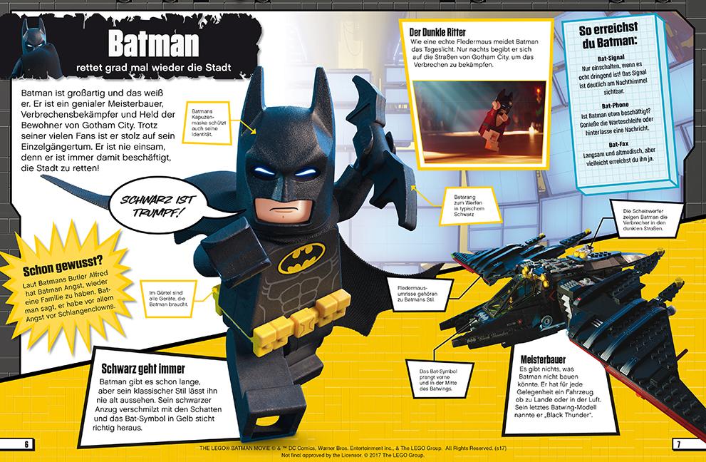 The Lego Batman Movie Dk Verlag