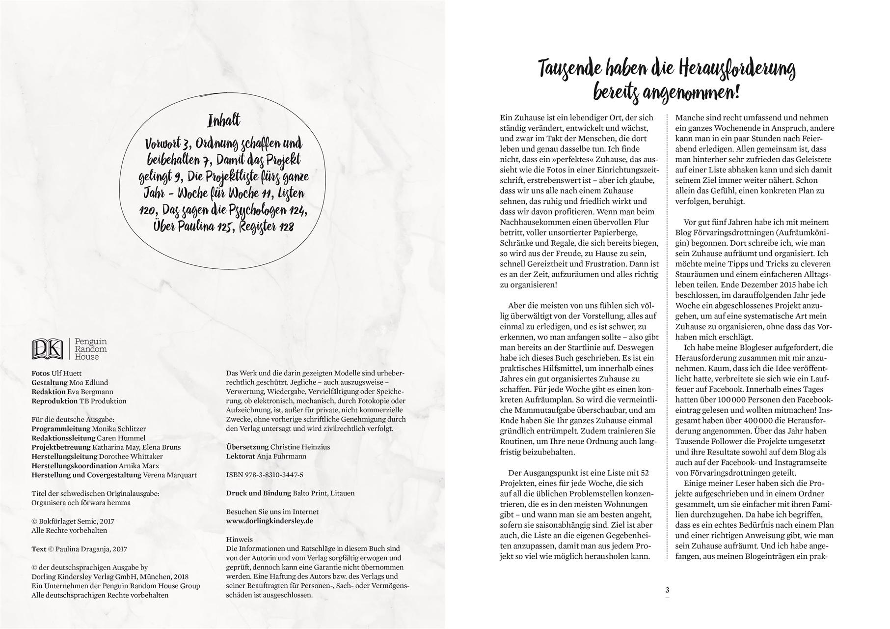 Alles in Ordnung: Aufräum-Buch mit praktischen Checklisten