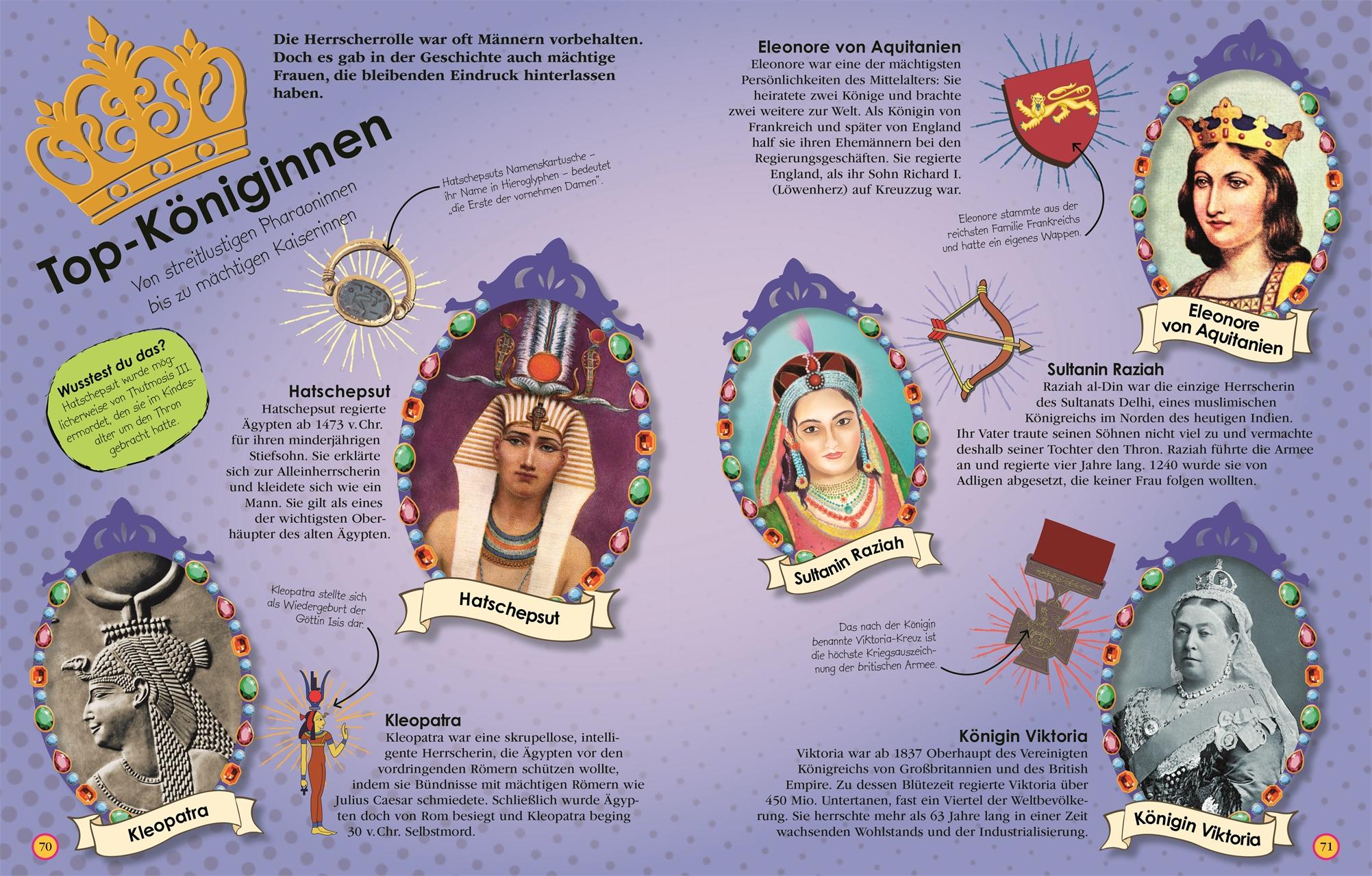 Weltgeschichte Buch 100 Frauen Die Die Welt Verändert Haben