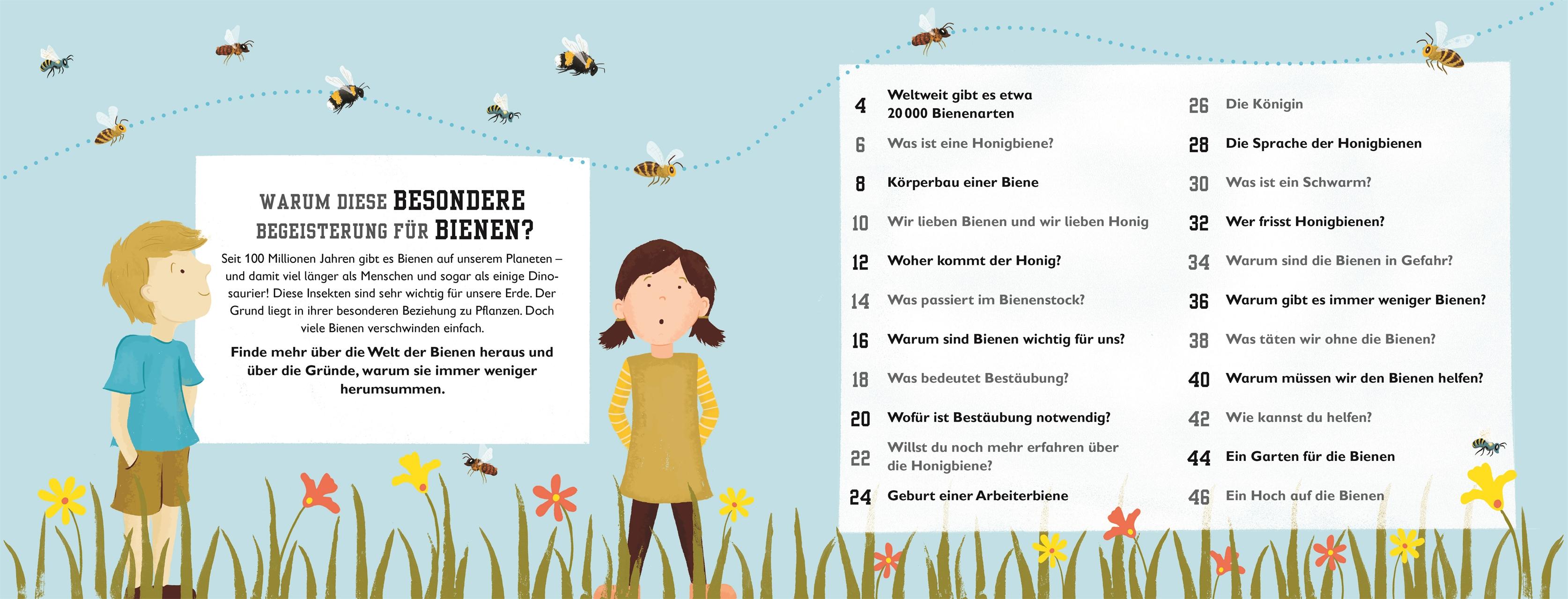 Das Buch Der Bienen Wunderschönes Bienen Buch Für Kinder