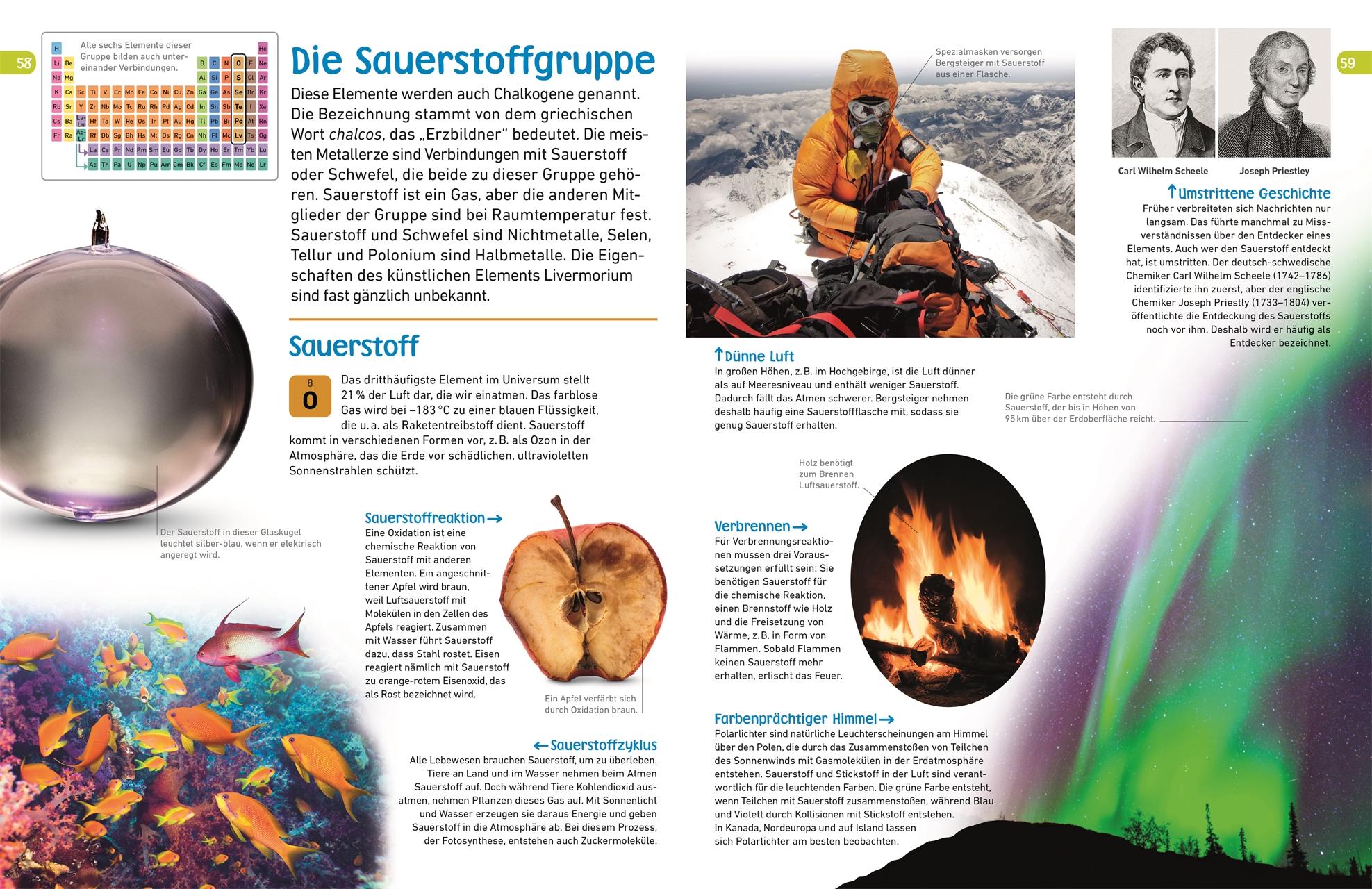 Memo Wissen Entdecken Chemische Elemente Dk Verlag