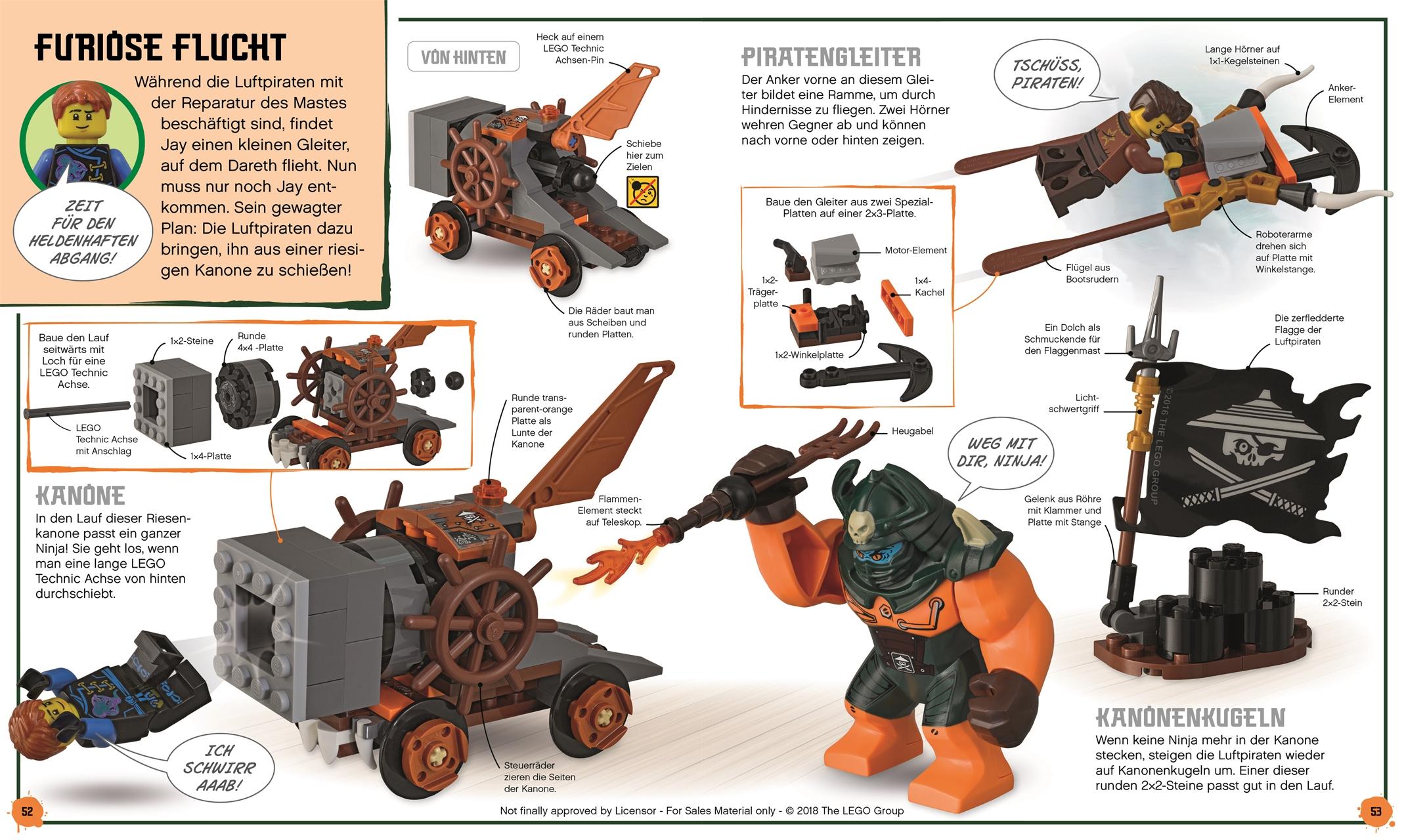 Lego Ninjago Abenteuer Selbst Gebaut
