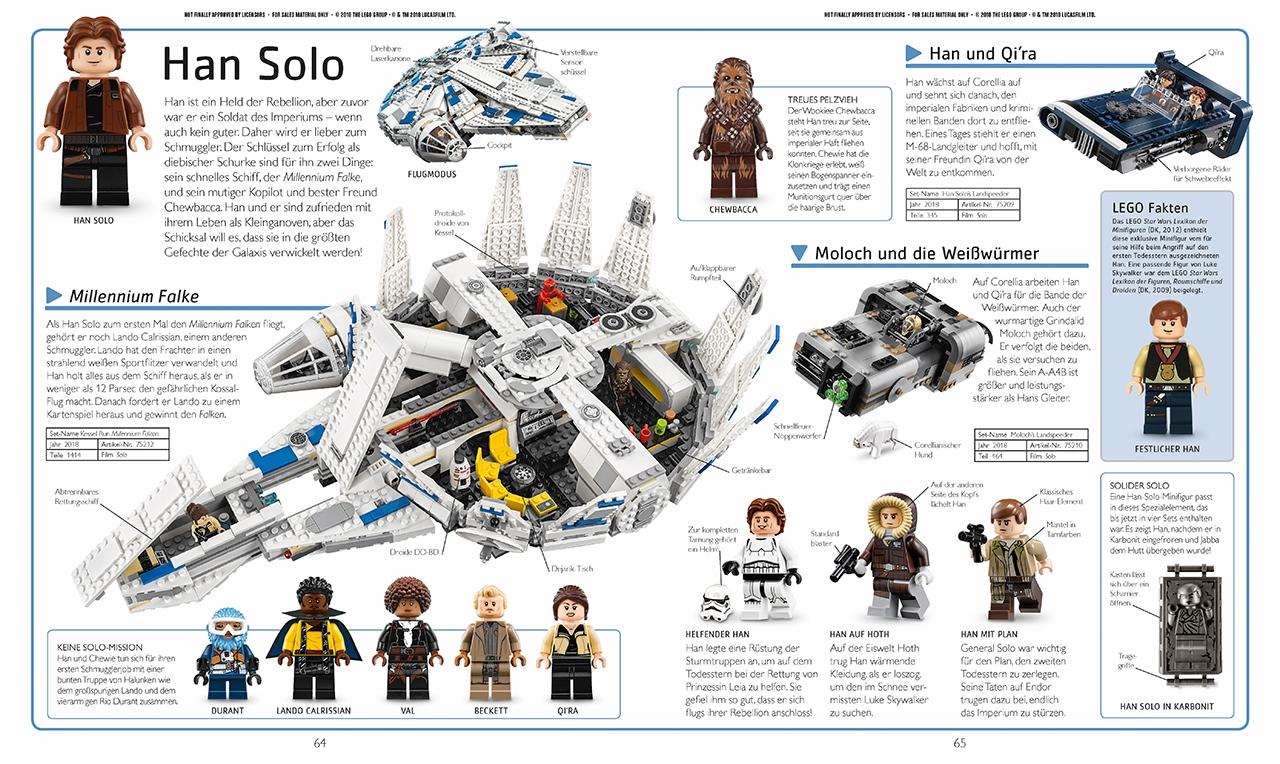 Fachbuch LEGO® Star Wars™ Lexikon der Minifiguren inklusive exklusiver Minifigur
