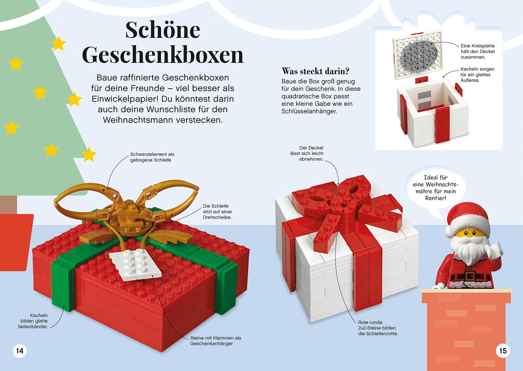 Weihnachten Ideen 2019.Lego Ideen Weihnachten Dk Verlag